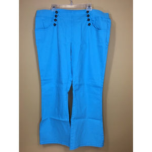 Diane Gilman Pants - NWOT DG2 Diane Gilman Blue Sailor Pants